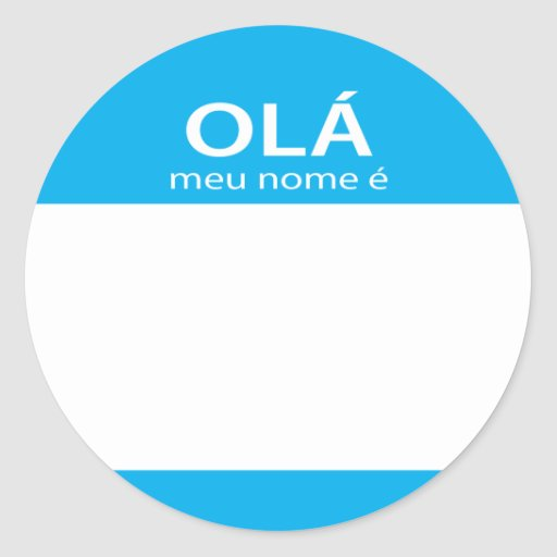 how to say my name is in portuguese