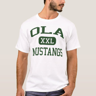 Ola - Mustangs - High School - McDonough Georgia T-Shirt