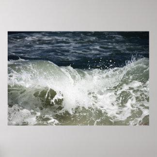Ola oceánica #4503 póster