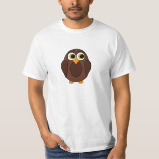 Ola the Wise Owl Cartoon T-Shirt