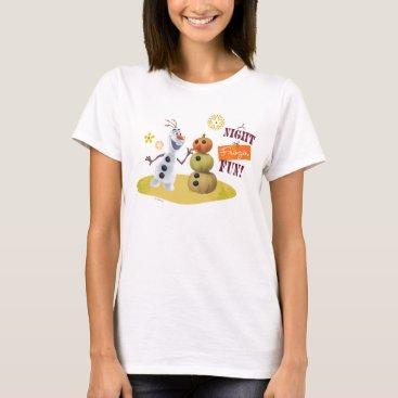 Disney Themed Olaf | A Night of Frozen Fun T-Shirt