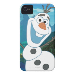 Case-Mate iPhone 4 Barely There Universal Case with Frozen's Olaf: Always Up for Adventure design