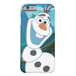 Case-Mate Barely There iPhone 6 Case with Frozen's Olaf: Always Up for Adventure design