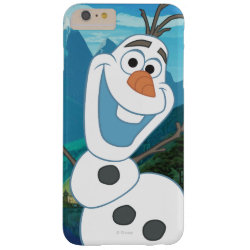 Case-Mate Barely There iPhone 6 Plus Case with Frozen's Olaf: Always Up for Adventure design
