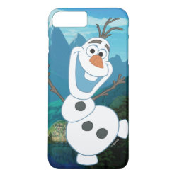 Case-Mate Tough iPhone 7 Plus Case with Frozen's Olaf: Always Up for Adventure design