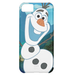 Case-Mate Barely There iPhone 5C Case with Frozen's Olaf: Always Up for Adventure design