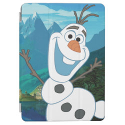 Frozen's Olaf: Always Up for Adventure iPad Air Cover