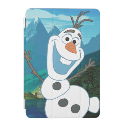 iPad mini Cover with Frozen's Olaf: Always Up for Adventure design