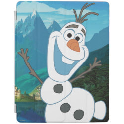 iPad 2/3/4 Cover with Frozen's Olaf: Always Up for Adventure design