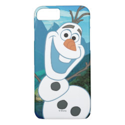 Case-Mate Barely There iPhone 7 Case with Frozen's Olaf: Always Up for Adventure design