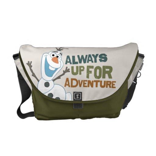 Olaf - Always up for Adventure Messenger Bag