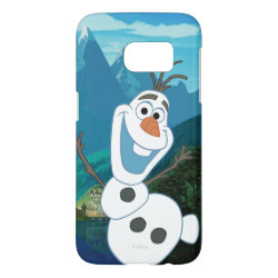Frozen's Olaf: Always Up for Adventure Case-Mate Barely There Samsung Galaxy S7 Case