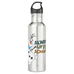 Frozen's Olaf: Always Up for Adventure Water Bottle (24 oz)