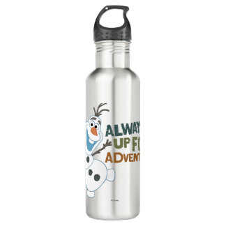 Olaf | Always up for Adventure Stainless Steel Water Bottle