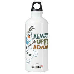 SIGG Traveller Water Bottle (0.6L) with Frozen's Olaf: Always Up for Adventure design