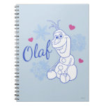 Olaf and Snowflakes Notebook