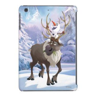 Olaf and Sven iPad Mini Covers