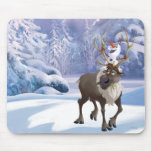 Olaf and Sven Mouse Pad