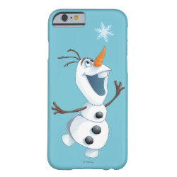 Case-Mate Barely There iPhone 6 Case with Olaf reaching for a Snowflake design