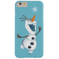 Case-Mate Barely There iPhone 6 Plus Case with Olaf reaching for a Snowflake design