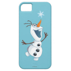 Case-Mate Vibe iPhone 5 Case with Olaf reaching for a Snowflake design