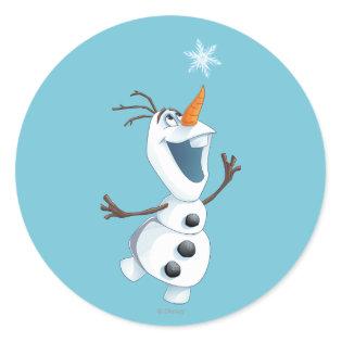 Olaf - Blizzard Buddy Classic Round Sticker