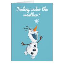 Olaf | Blizzard Buddy - Get Well Card