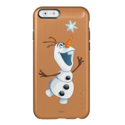 Incipio Feather® Shine iPhone 6 Case with Olaf reaching for a Snowflake design