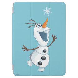 iPad Air Cover with Olaf reaching for a Snowflake design