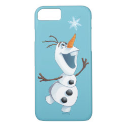 Case-Mate Barely There iPhone 7 Case with Olaf reaching for a Snowflake design