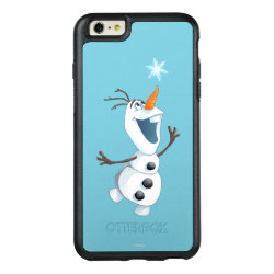 OtterBox Symmetry iPhone 6/6s Plus Case with Olaf reaching for a Snowflake design