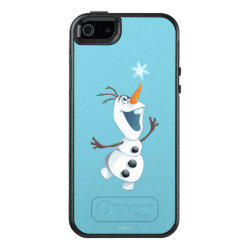 OtterBox Symmetry iPhone SE/5/5s Case with Olaf reaching for a Snowflake design