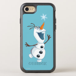 OtterBox Apple iPhone 7 Symmetry Case with Olaf reaching for a Snowflake design