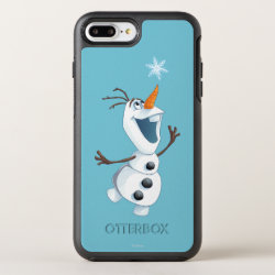 OtterBox Apple iPhone 7 Plus Symmetry Case with Olaf reaching for a Snowflake design