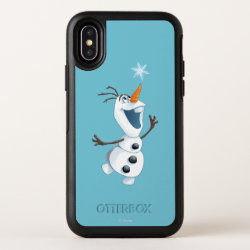 OtterBox Apple iPhone X Symmetry Case with Olaf reaching for a Snowflake design