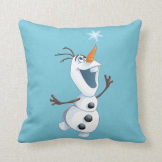 Olaf - Blizzard Buddy Throw Pillow