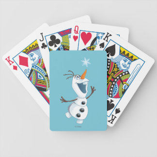 Olaf - Blizzard Buddy Bicycle Playing Cards