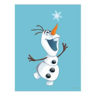 Olaf - Blizzard Buddy Postcard