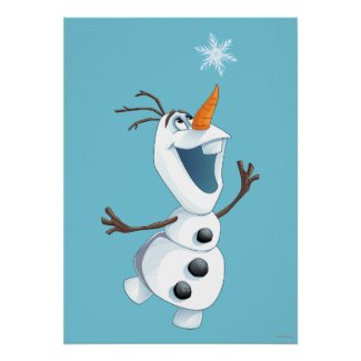 Olaf - Blizzard Buddy Poster