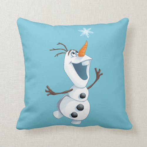 Olaf - Blizzard Buddy Throw Pillow