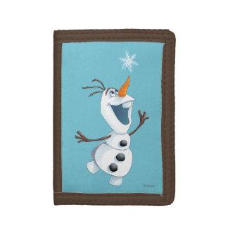 Olaf   Blizzard Buddy Tri-fold Wallet