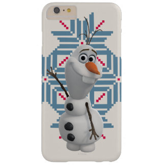 Olaf -  Blue Snowflake Barely There iPhone 6 Plus Case