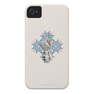 Olaf | Blue Snowflake Case-Mate iPhone 4 Case