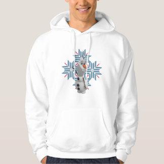 Olaf | Blue Snowflake Hoodie