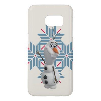 Olaf -  Blue Snowflake Samsung Galaxy S7 Case