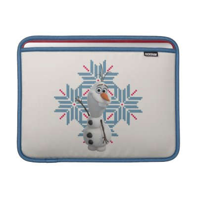 Olaf -  Blue Snowflake Sleeves For MacBook Air