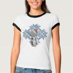 Olaf | Blue Snowflake T-Shirt
