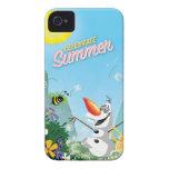 Olaf, celebra verano iPhone 4 Case-Mate fundas