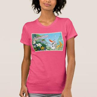 Olaf, celebra verano camiseta