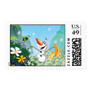 Olaf, Celebrate Summer Postage